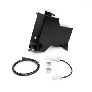 Picture of 2007.5-2010 Chevrolet / GMC Factory Replacement Coolant Tank Satin Black HSP Diesel