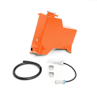 Picture of 2007.5-2010 Chevrolet / GMC Factory Replacement Coolant Tank Orange HSP Diesel