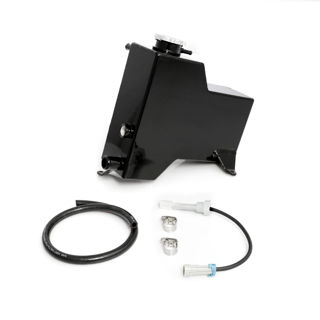 Picture of 2007.5-2010 Chevrolet / GMC Factory Replacement Coolant Tank Gloss Black HSP Diesel