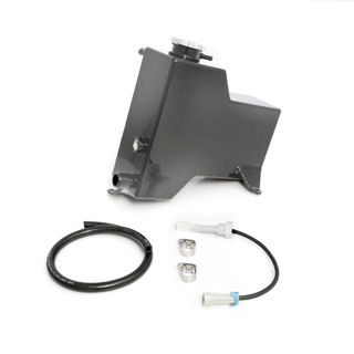 Picture of 2007.5-2010 Chevrolet / GMC Factory Replacement Coolant Tank Dark Grey HSP Diesel