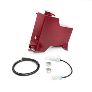 Picture of 2007.5-2010 Chevrolet / GMC Factory Replacement Coolant Tank Candy Red HSP Diesel