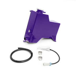 Picture of 2007.5-2010 Chevrolet / GMC Factory Replacement Coolant Tank Candy Purple HSP Diesel
