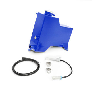 Picture of 2007.5-2010 Chevrolet / GMC Factory Replacement Coolant Tank Candy Blue HSP Diesel