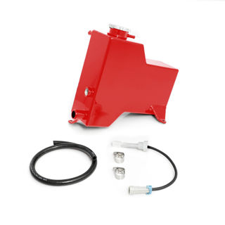 Picture of 2007.5-2010 Chevrolet / GMC Factory Replacement Coolant Tank Blood Red HSP Diesel