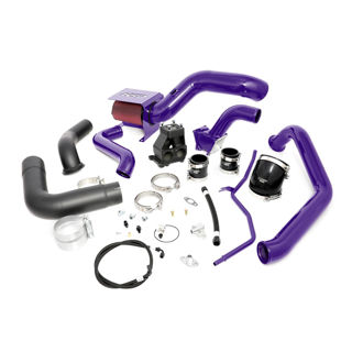 Picture of 2007.5-2010 Chevrolet / GMC S400 Single Install Kit No Turbo Candy Purple HSP Diesel