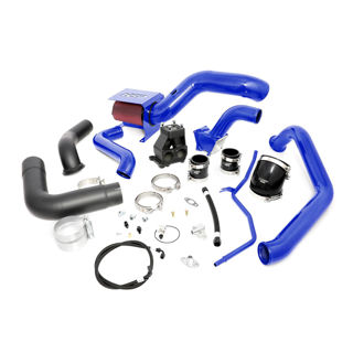 Picture of 2007.5-2010 Chevrolet / GMC S400 Single Install Kit No Turbo Candy Blue HSP Diesel