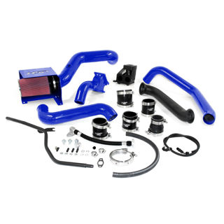 Picture of 2007.5-2010 Chevrolet / GMC S300 Single Install Kit No Turbo Candy Blue HSP Diesel