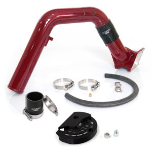 Picture of 2007.5-2010 Chevrolet / GMC Max Flow Bridge and Cold Side Tube Over Alt Candy Red HSP Diesel