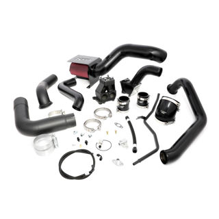 Picture of 2006-2007 Chevrolet / GMC S400 Single Install Kit No Turbo Satin Black HSP Diesel