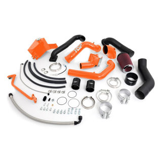 Picture of 2006-2007 Chevrolet / GMC Over Stock Twin Kit No Turbo Corner Location Orange HSP Diesel