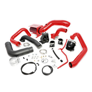 Picture of 2001-2004 Chevrolet / GMC S400 Single Install Kit No Turbo Blood Red HSP Diesel