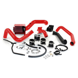 Picture of 2001-2004 Chevrolet / GMC S300 Single Install Kit No Turbo Blood Red HSP Diesel