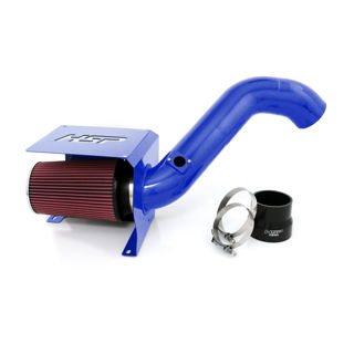 Picture of 2001-2004 Chevrolet / GMC Cold Air Intake Candy Blue HSP Diesel