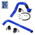 Picture of 2006-2010 Chevrolet / GMC Intercooler Charge Pipe Bundle Candy Blue HSP Diesel