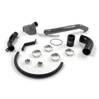 Picture of 2006-2010 Chevrolet / GMC Billet Thermostat Housing Kit Dark Grey HSP Diesel
