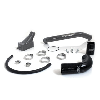 Picture of 2001-2005 Chevrolet / GMC Billet Thermostat Housing Kit W/ Coolant return Raw HSP Diesel