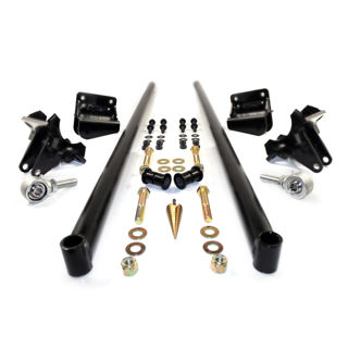 Picture of 2001-2010 Chevrolet / GMC 75 Inch Bolt On Traction Bars 3.5 Inch Axle Diameter Satin Black HSP Diesel