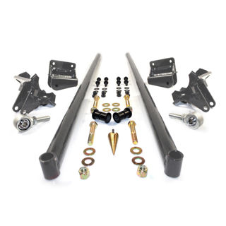 Picture of 2001-2010 Chevrolet / GMC 70 Inch Bolt On Traction Bars 3.5 Inch Axle Diameter Dark Grey HSP Diesel