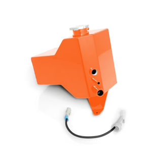 Picture of 2001-2007 Chevrolet / GMC Factory Replacement Coolant Tank Orange HSP Diesel