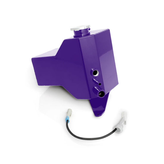 Picture of 2001-2007 Chevrolet / GMC Factory Replacement Coolant Tank Candy Purple HSP Diesel