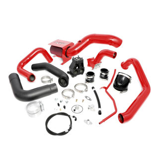 Picture of 2004.5-2005 Chevrolet / GMC S400 Single Install Kit No Turbo Blood Red HSP Diesel