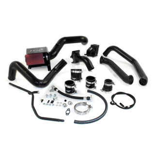 Picture of 2004.5-2005 Chevrolet / GMC S300 Single Install Kit No Turbo Satin Black HSP Diesel