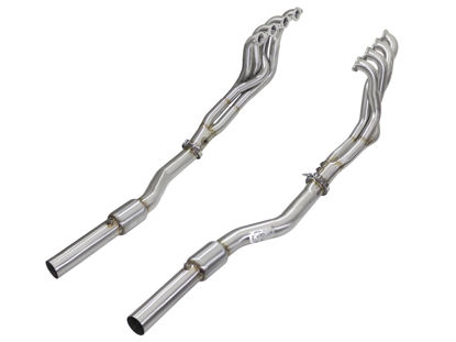 Picture of aFe Twisted Steel Tri-Y Headers/Connection Pipes (Street) 09-15 Cadillac CTS-V V8 6.2L