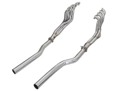 Picture of aFe Twisted Steel Tri-Y Headers/Connection Pipes (Race) 09-15 Cadillac CTS-V V8 6.2L