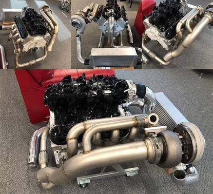 Picture of Huron Speed Turbo Kit for Trailblazer SS (Pipe only)