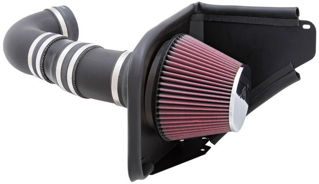 Picture of K&N 08-09 Pontiac G8 V8-6.0L/6.2L Aircharger Performance Intake