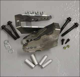 Picture of Trailblazer SS Lower Control Arm Relocation Brackets