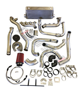 Picture of Huron Speed V3 07.5-13 Silverado/Sierra Intercooled T4 Turbo Kit