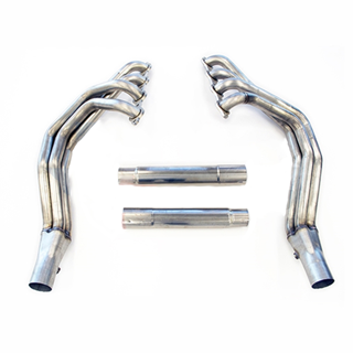 Picture of TSP 01-04 C5 & Z06 Corvette Stainless Steel Long Tube Headers