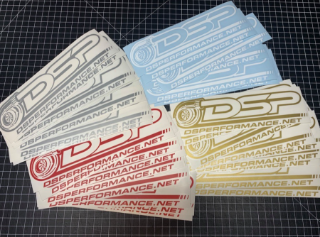 Picture of DSP Solid Color Vinyl Decal